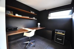 Bureau houtstructuur