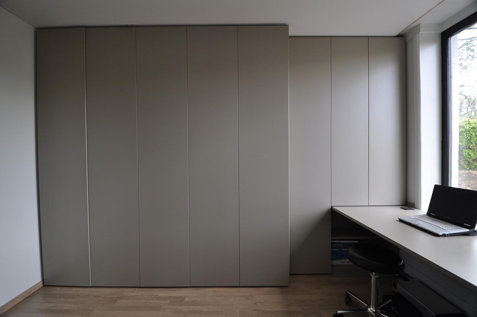 Bureau in basaltgrijs kast id kasten meubelen dressings scheidingswanden en schuifdeuren - Coulissan deur je dressing bladeren ...