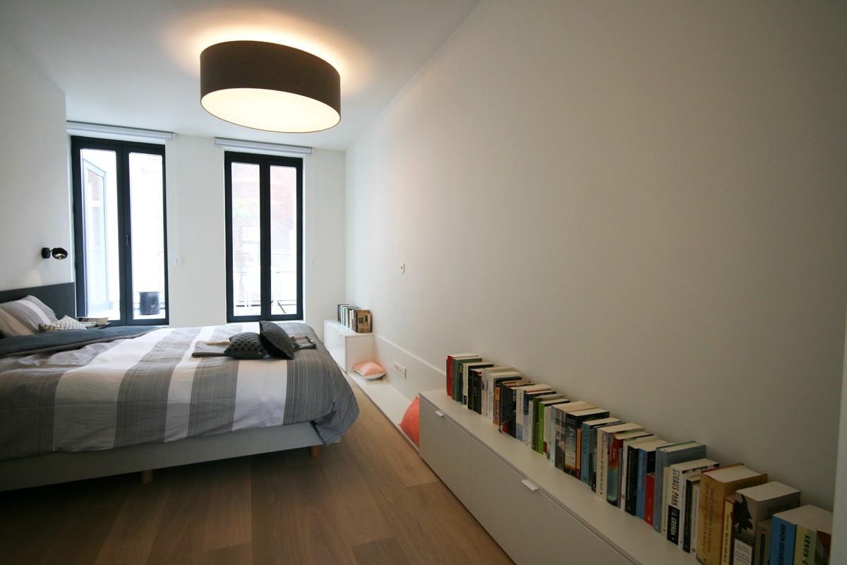 Inrichting Grote Slaapkamer : Lage maatkasten in slaapkamer u a kast id kasten meubelen