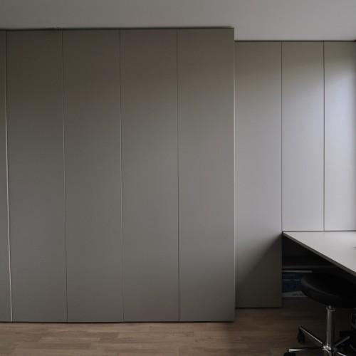 Bureau werken in een huiselijke sfeer kast id kasten meubelen dressings - Coulissan deur je dressing bladeren ...