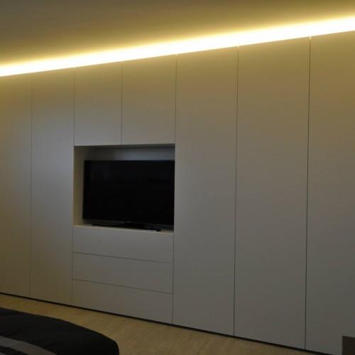Armoire Chambre Avec Tv armoires sur mesure › armoires, mobilier, dressings, parois de