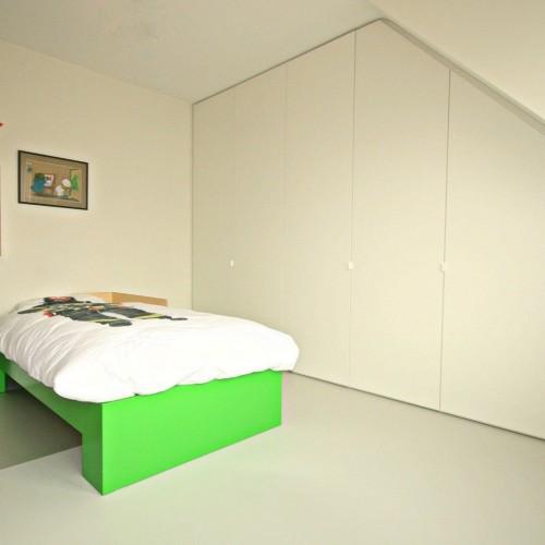 Armoire murale chambre elegant armoire tete de lit tete lit deco murale chambre design de - Carre blanc chaux ...