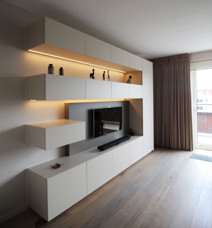Maatkasten  Perfect passend in je woonkamer › Kast-ID  Kasten ...